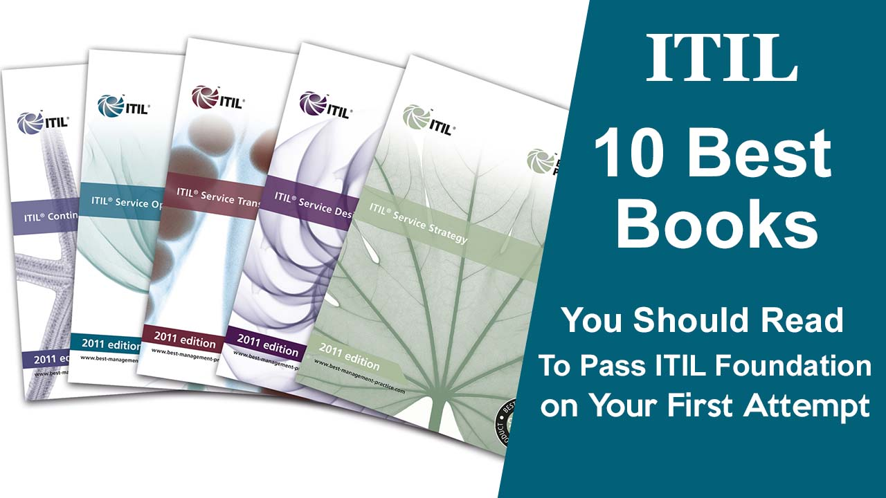 10 best itil books to pass itil foundation exam on first attempt xflitez Choice Image